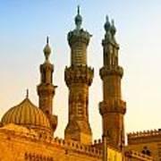 Local Cairo Mosque 05 Art Print