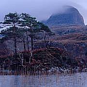 Loch Druim Suardalain Art Print