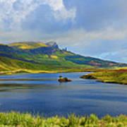 Loch Fada To The Storr Art Print