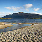 Loch Lomond Pano Art Print by Jane Rix