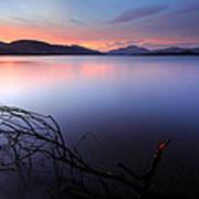 Loch Lomond Sunset Art Print