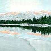 Loch Ossian Art Print