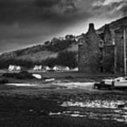 Lochranza Castle Art Print