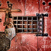 Locked Up Art Print