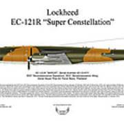 Lockheed Ec-121r 553rs Korat Rtafb Art Print by Arthur Eggers