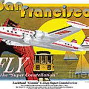 Lockheed L-1049g Super Constellation Art Print