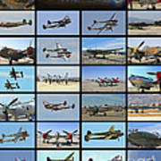 Lockheed P-38 Poster Art Print