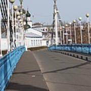 Locks On Bridge Art Print