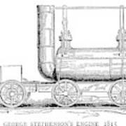 Locomotive, 1815 Art Print