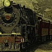 Locomotive 499  Art Print