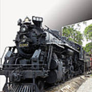 Locomotive 639 Type 2 8 2 Out Of Bounds Art Print