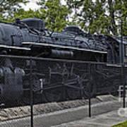 Locomotive 639 Type 2 8 2 Side View Art Print