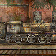 Locomotive - Our Old Family Business Print by Mike Savad