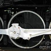 Locomotive Wheels 2 Art Print