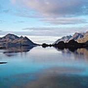 Lofoten Islands Water World Art Print