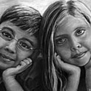 Logan And Ashlyn Commission Art Print