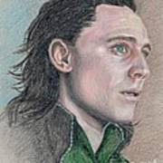 Loki From The Avengers Art Print