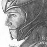 Loki Smirking Art Print