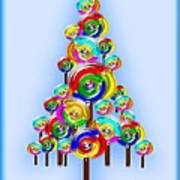 Lollipop Tree Art Print