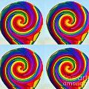 Lollipops Art Print
