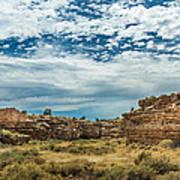 Lomaki Pueblo In Box Canyon Art Print