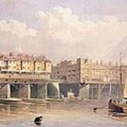 London Bridge, 1835 Art Print