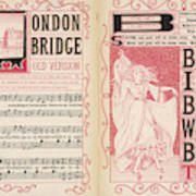 London Bridge Is Broken Down! Dance Art Print
