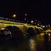 London Bridge Night Art Print