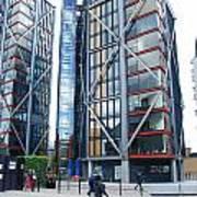 London Buildings 1 Art Print