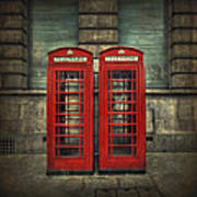London Calling Art Print by Evelina Kremsdorf