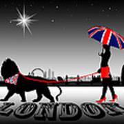 London Catwalk Queen Too Art Print