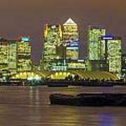 London Docklands Print by Dawn OConnor
