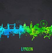 London England Art Print by Aged Pixel