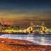 London Night View Art Print