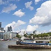 London Panoramic Art Print by Donald Davis
