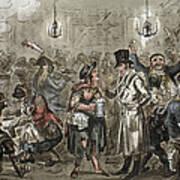 London: Slum, 1821 Art Print