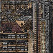 London Town Art Print