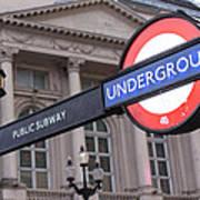 London Underground 1 Art Print