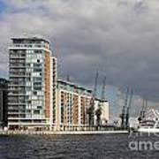London Victoria Dock Art Print