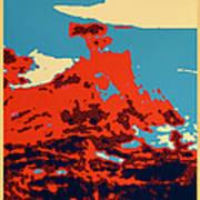 Lone Cypress Poster Art Print