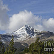 Lone Mountain Peak Art Print
