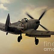 Lone Spitfire Art Print