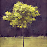 Lone Tree Willamette Valley Oregon Art Print by Carol Leigh