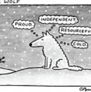 Lone Wolf: Art Print