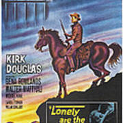 Lonely Are The Brave, Us Poster Art Art Print
