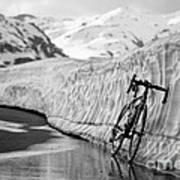 Lonely Bike Art Print by Maurizio Bacciarini