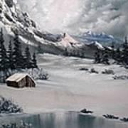 Lonely Cabin Art Print by John Koehler