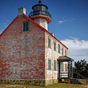 Lonely East Point Lighthouse Art Print