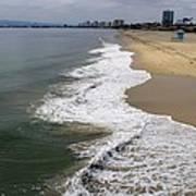 Long Beach California Shoreline Art Print