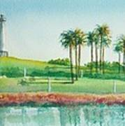 Long Beach Lighthouse Art Print